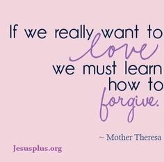 love this quote! ♥ Mother Teresa More