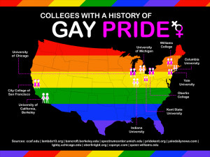 10 Colleges With a History of Gay Pride