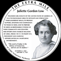 Social issues Juliette Gordon Low addressed: