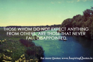 Disappointment Quotes, Quotation about Disappointment Thoughts Images ...