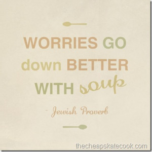 Quotes and Sayings About Soup