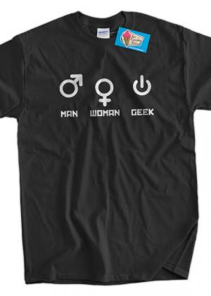 Computer Geek T-Shirt Funny Nerd Man Woman Geek T-Shirt Gifts for Dad ...