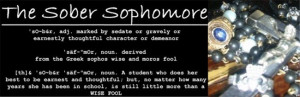 Sophomore quotes Move over Juniors, Step aside Seniors, the Sophomores ...