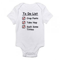 Hilarious baby onesies ...For more funny onesies and humor babies ...