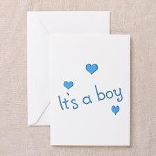 It's A Boy Baby Shower Invitations (6) for