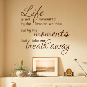 wall-quote-wall-decal-graphic-wall-sticker-aijo-graphics-LIFE-IS-NOT ...
