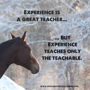 """Experience is the teacher of all things."""" - Julius Caesar But be ..."""