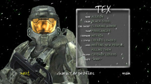... Tex S4 Bio.png - Red vs. Blue Wiki, The Unofficial Red vs. Blue Wiki