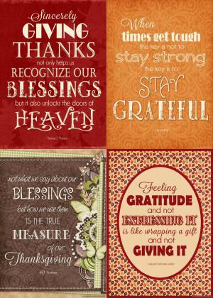 Lds Gratitude Quotes Gratitude quotes for