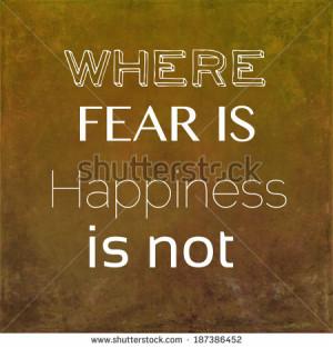 Inspirational quote by ancient Greek philosopher Seneca - stock photo
