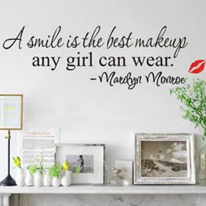 ... Smile-Is-The-Best-Makeup-Any-Girl-Can-Wear-Quote-Wall-Sticker-Art.jpg