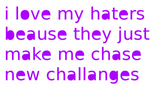 love my haters! by punkgirl73mw