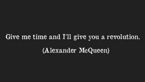 QUOTES: Alexander Mcqueen