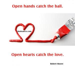 open hearts ...