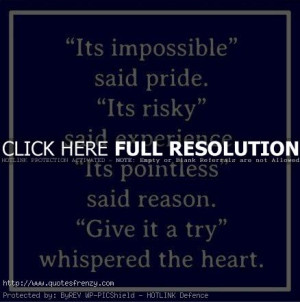 Its Impossible Inspirational Life Quotes