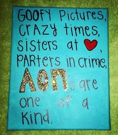 Sorority Sayings