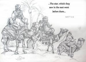 Wise Men Drawing