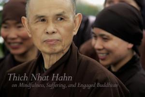 Mindfulness, Suffering, and Engaged Buddhism