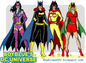Gotham Girls Huntress, Batgirl, Batwoman, Bat-Girl by ...