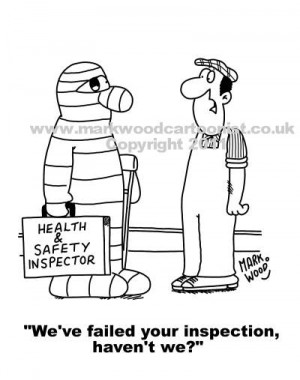 Cartoon Funny Health And Safety Picture Pictures