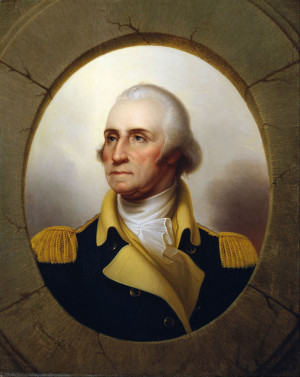 The hero of the Independance War of the American British Colonies ...