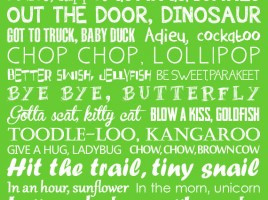 Goodbye Sign See You Later Alligator After by LittleLifeDesigns