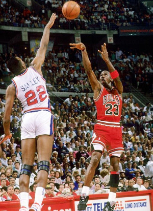 Michael Jordan Chicago Bulls John Salley Detroit PistonsAir Jordans ...