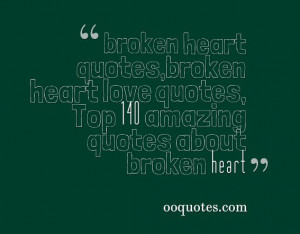 Funny Quotes About Broken Hearts
