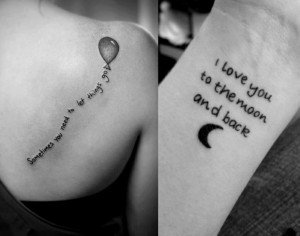 amazing tattoo on body , Small Tattoo Sayings For Girls
