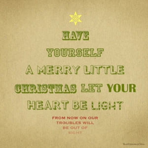 Christmas Song Quotes and Lyrics