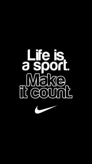 Nike Quote Wallpaper