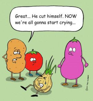 Cartoon: onion (medium) by sardonic salad tagged onion,vegetable ...