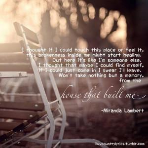 Miranda Lambert Quotes