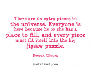 Puzzle Piece Quotes About Life