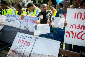 Eritrean refugees in Israel protest at what they say is institutional ...