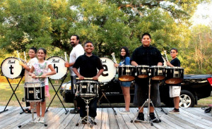 Banging out success: Drumline motivates youths