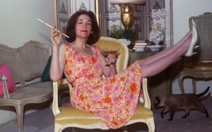 23 Jan 1965 --- Original caption: Helen Gurly Brown, author of