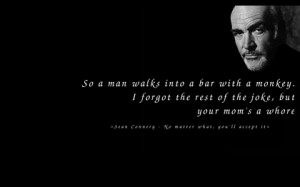 quotes sean connery 1280x800 wallpaper Actors Sean Connery HD Art HD ...