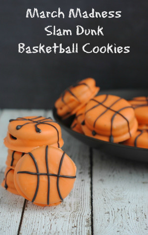 march madness recipe easy slam dunk basketball cookies