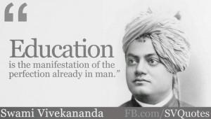 Swami Vivekananda's Quotes on Education