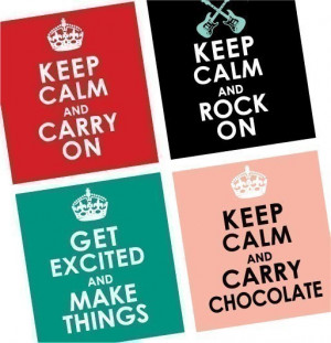Quotes and Sayings - Keep Calm and Chill Out - 7/8 or .875 Inch ...