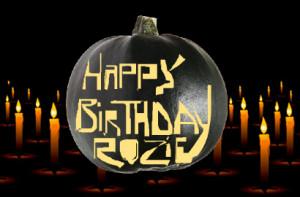 Happy Birthday Pumpkin Cake