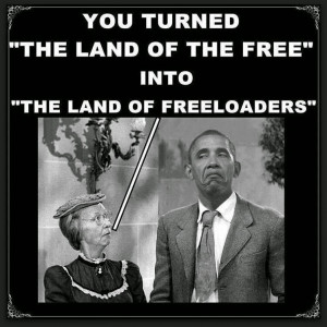 Obama's Land Of Freeloaders!
