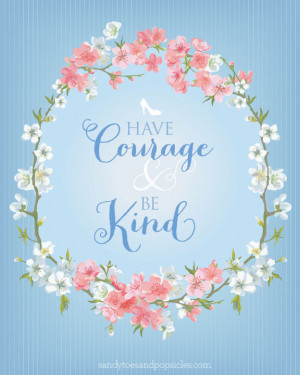 Have Courage and Be Kind: Cinderella Printable