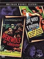 Wolfman Double Feature - Werewolf of London/She-Wolf of London
