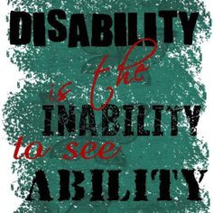 People With Disabilities Quotes