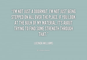 Quotes About Not Being a Doormat