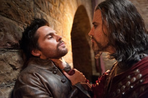 Still of Paul Rhys and Tom Riley in Da Vinci's Demons (2013)