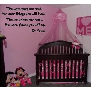 Dr. Seuss Quotes - for the nursery