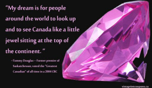 Gem Quote. by: Tommy Douglas